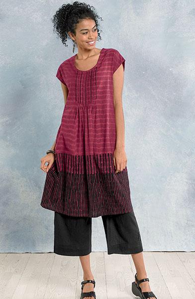 Latha dress - Berry