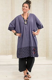 Irla Kaftan - Crystal purple