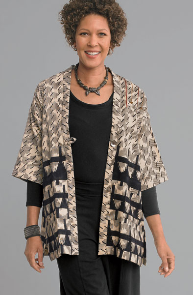 Kanchi Jacket - Natural/ black