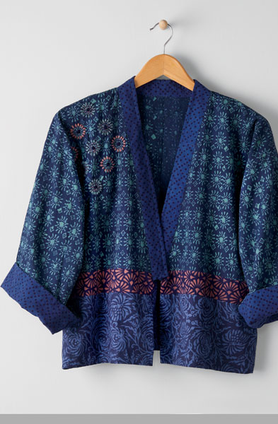 Sikkim Jacket - Lapis/multi