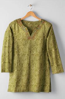 Agra Tunic - Caper