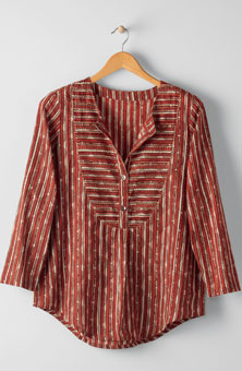 Misha Tunic - Red/multi