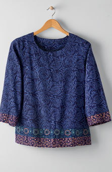 Devika Top - Lapis/multi