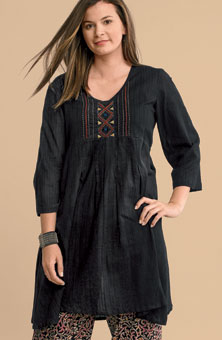 Deesha Tunic - Black