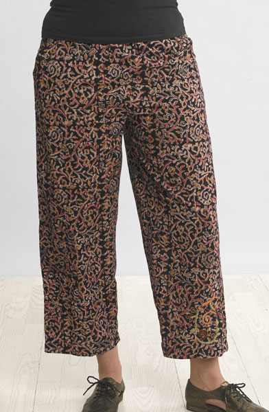 Kesari Pants - Black/multi