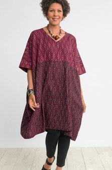Irla Dress - Claret