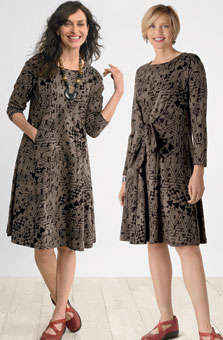 Mansi Dress - Stone