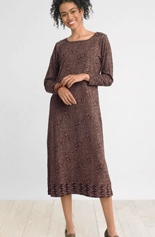 Lamina Knit Dress - Chai
