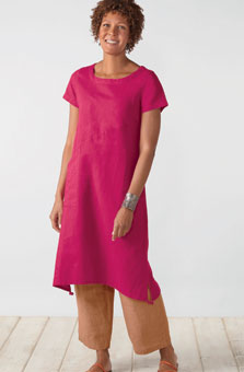 Maisha Dress - Bougainvillea