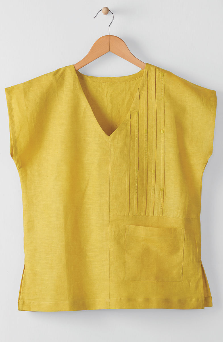 Renu Top  - Citron