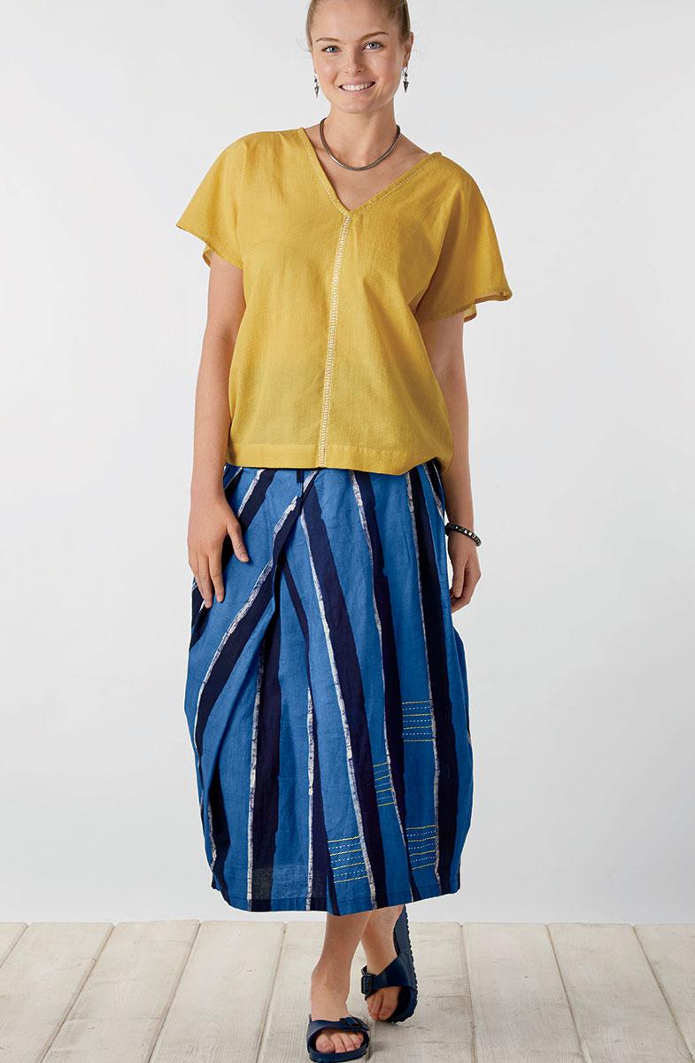 Arohi Skirt - Ocean