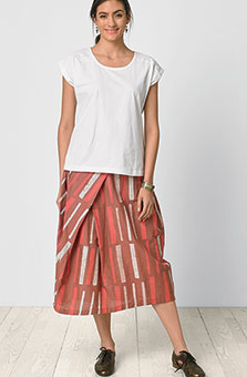 Arohi Skirt - Rose