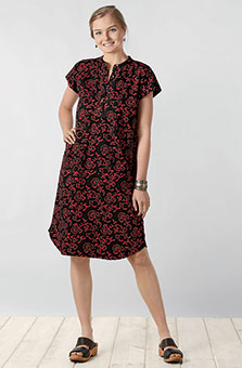 Jameel Dress - Cherry