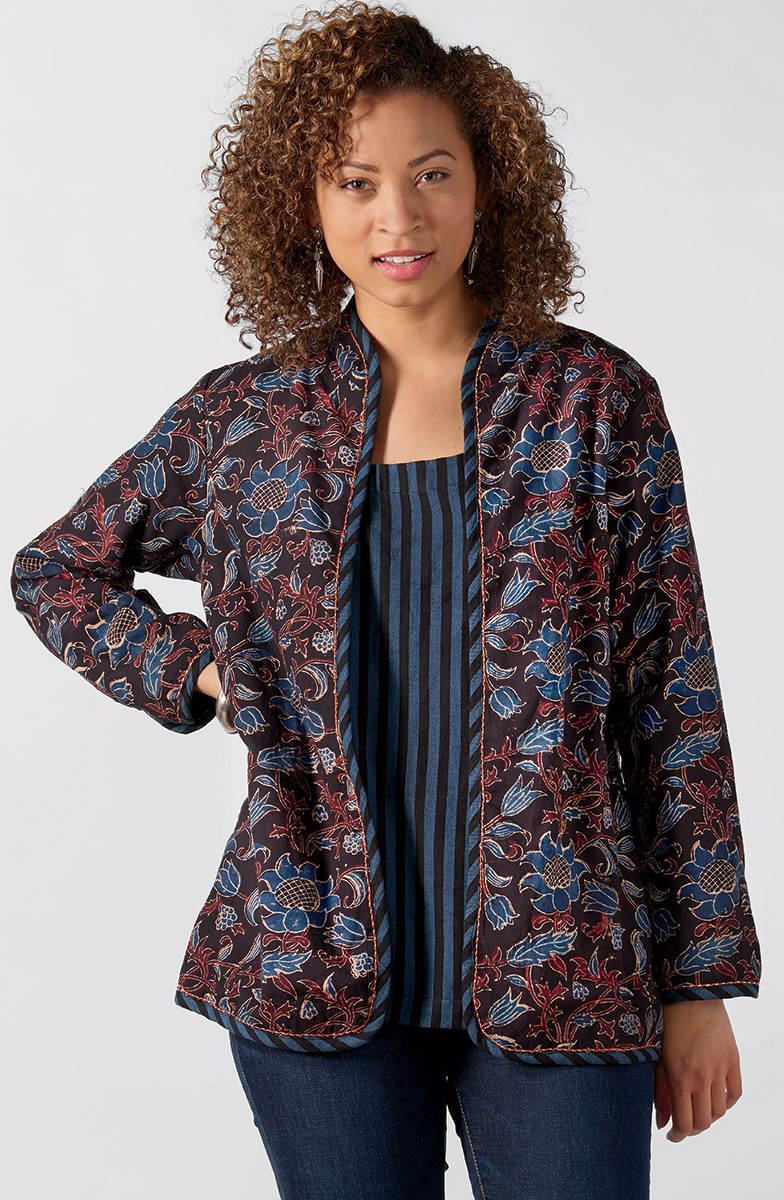 Reversible Amulya Jacket - Multi