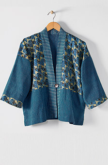 Namita Jacket - Blue