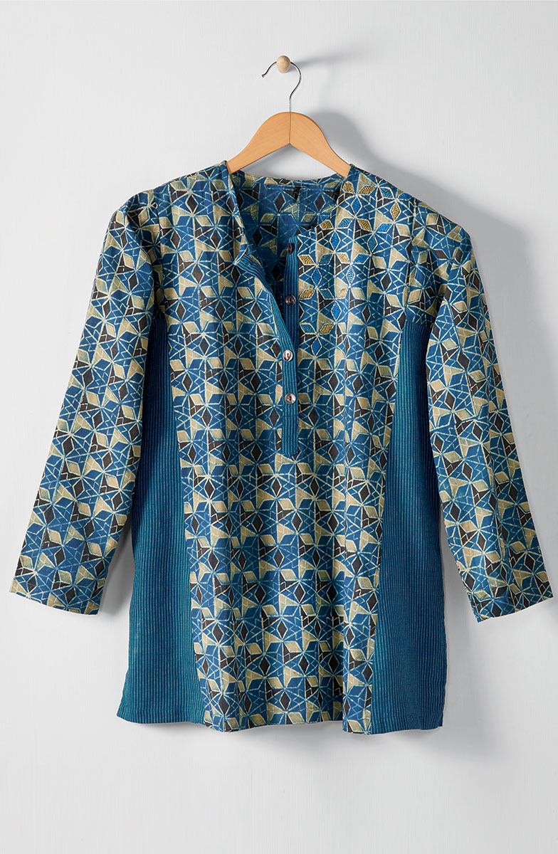 Sowmya Top - Blue