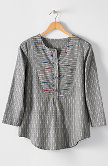 Misha Tunic - Steel