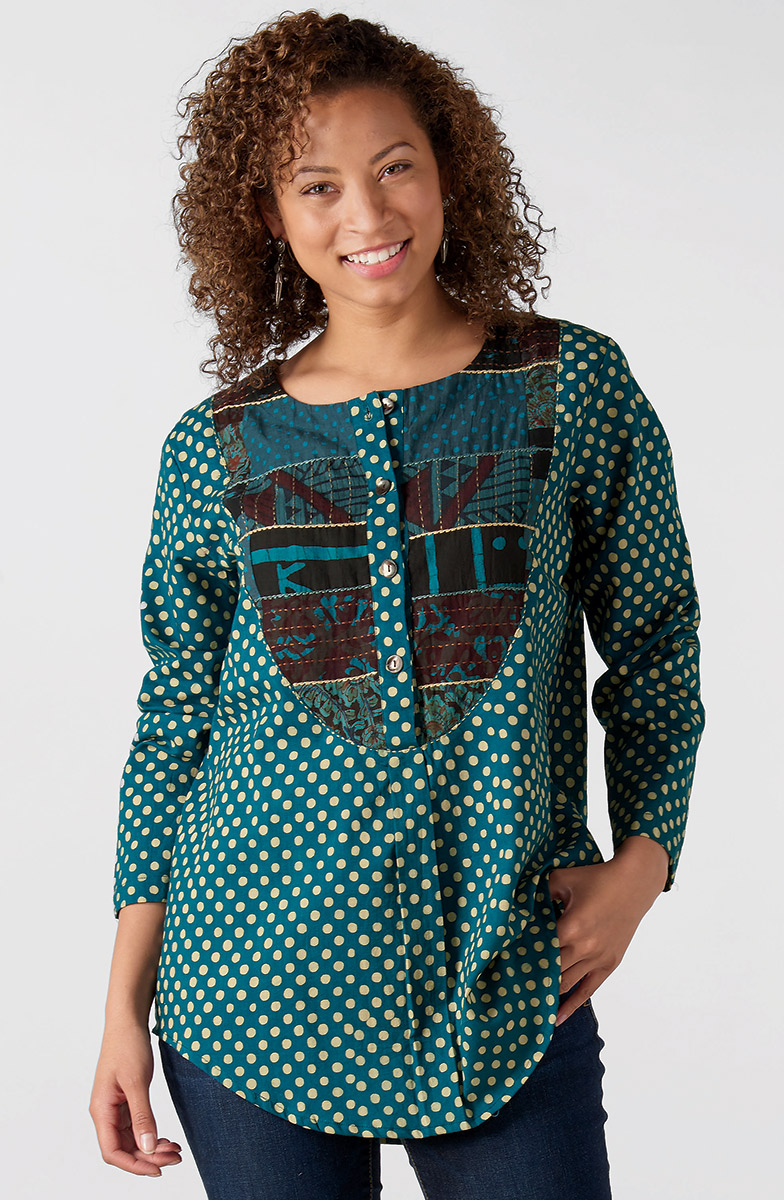 Misha Tunic - Teal
