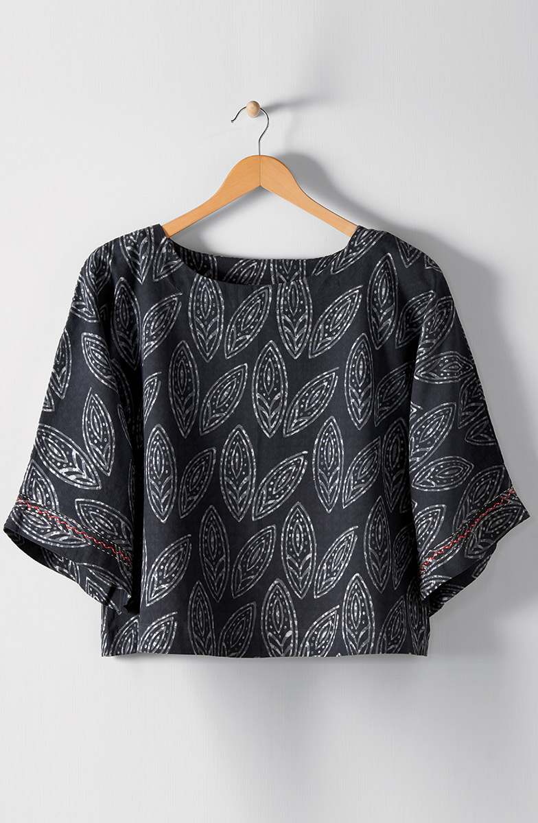 Sujaya Top - Pewter