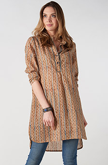 Sonam Shirt - Natural multi