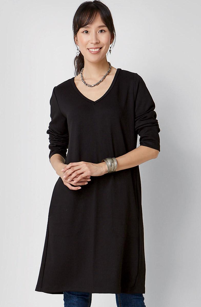 Malini Tunic - Black