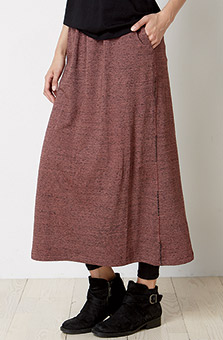 Kesari Skirt - Heather rosewood