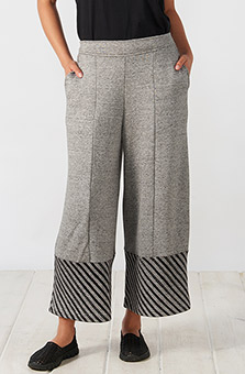Jalna Pant - Heather grey