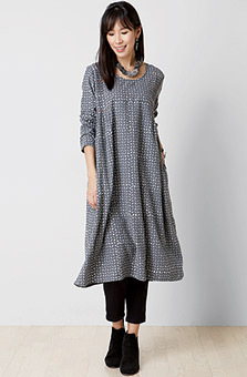 Premila Dress - Pewter