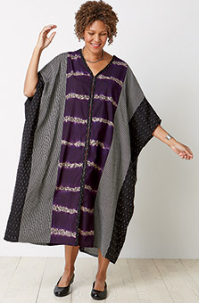 Kaftan - Grey Purple