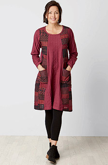 Mahima Dress - Wineberry