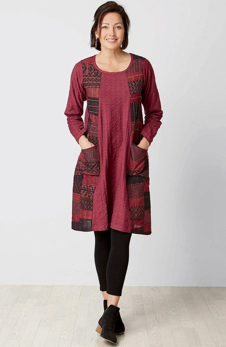 Mahima Dress - Wineberry