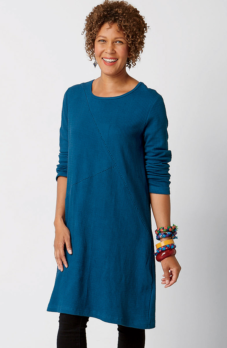 Samina Dress - Cobalt