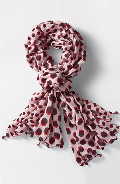 Scarf - Pink sand