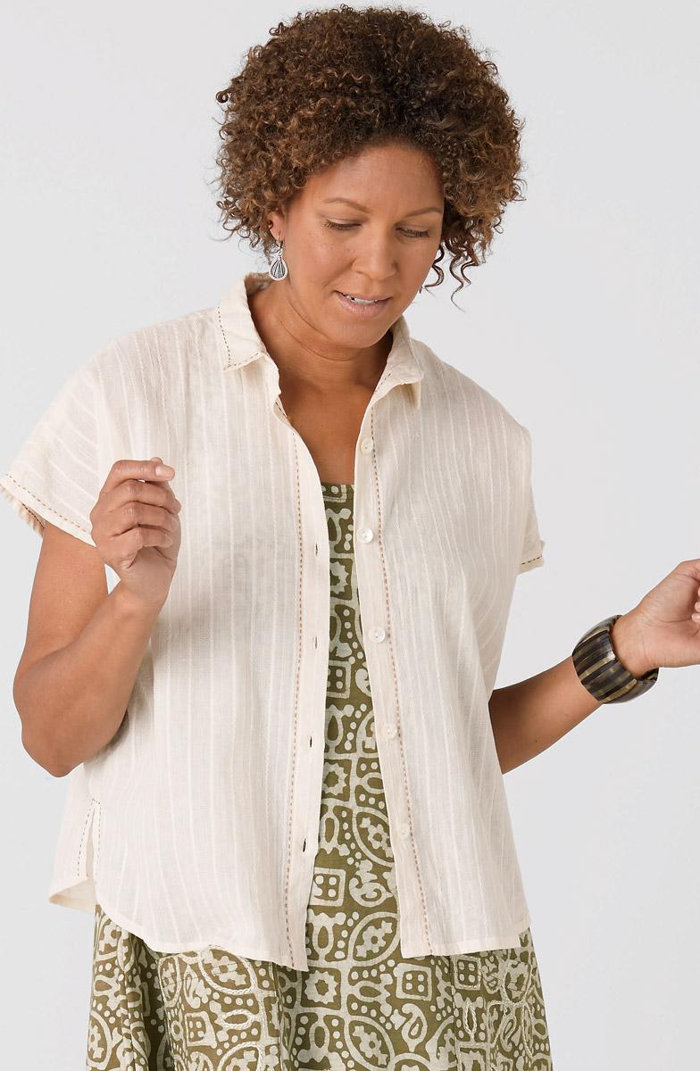 Adira Shirt - Natural