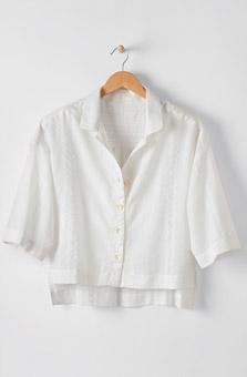Sachita Top - White