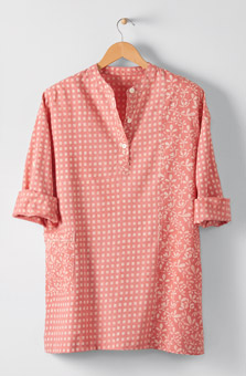 Kimaya Shirt - Sunrise pink