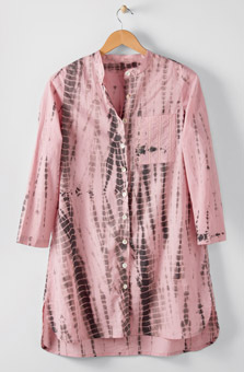 Sonam Long Shirt - Pink lemonade