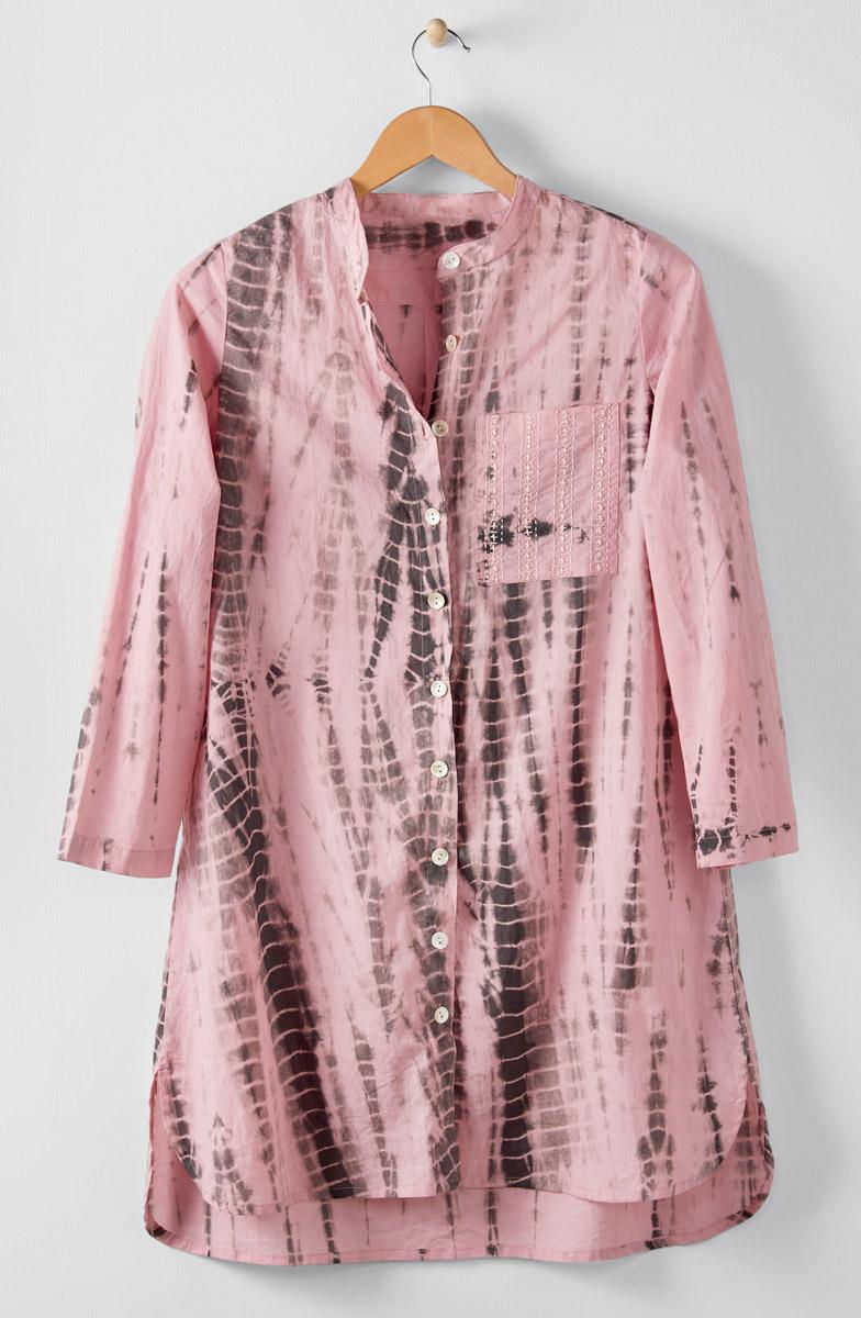 Sonam Long Shirt - Pink lemonade