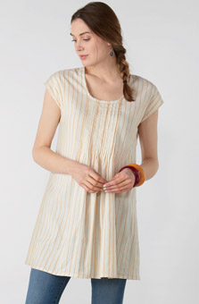 Latha Tunic - Natural Sunlight