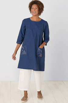 Rakhi Dress - Indigo