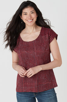 Tivisha Top - Red
