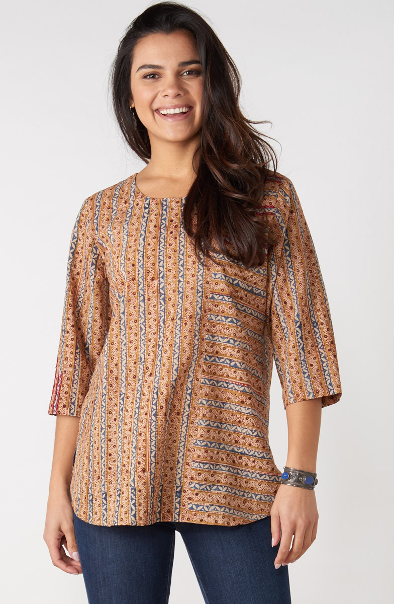 Divya Top - Natural Multi