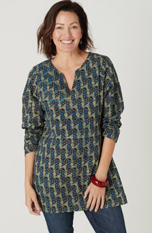 Agra Tunic - Blue