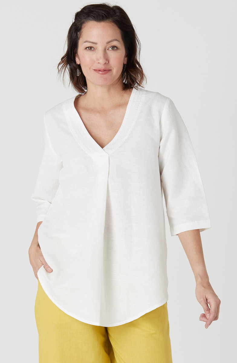 Sneha Tunic- White