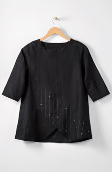 Amoli Tunic - Black