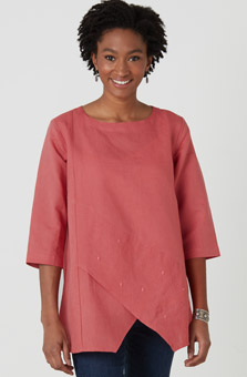 Amoli Tunic - Chili