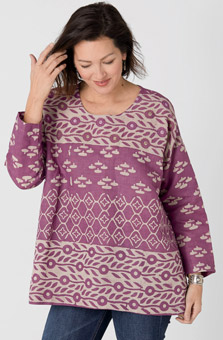 Simran Top - Lilac