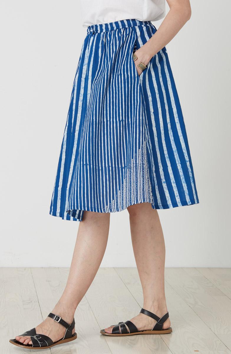 Rasika Skirt - Azure