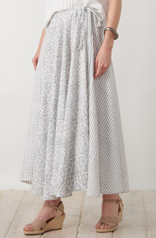 Madhuri Skirt - Cloud
