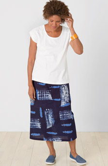 Panvel Skirt - Navy
